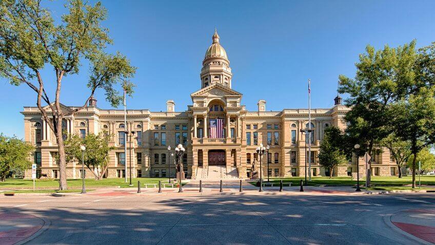 Capitol Building, Wyoming