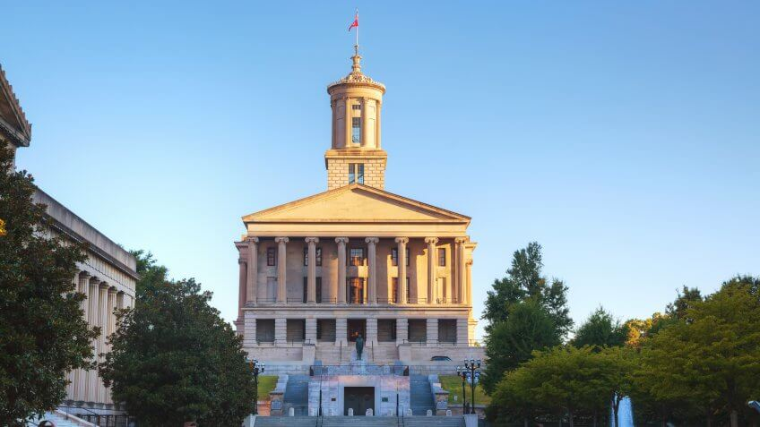 Capitol Building, Tennessee