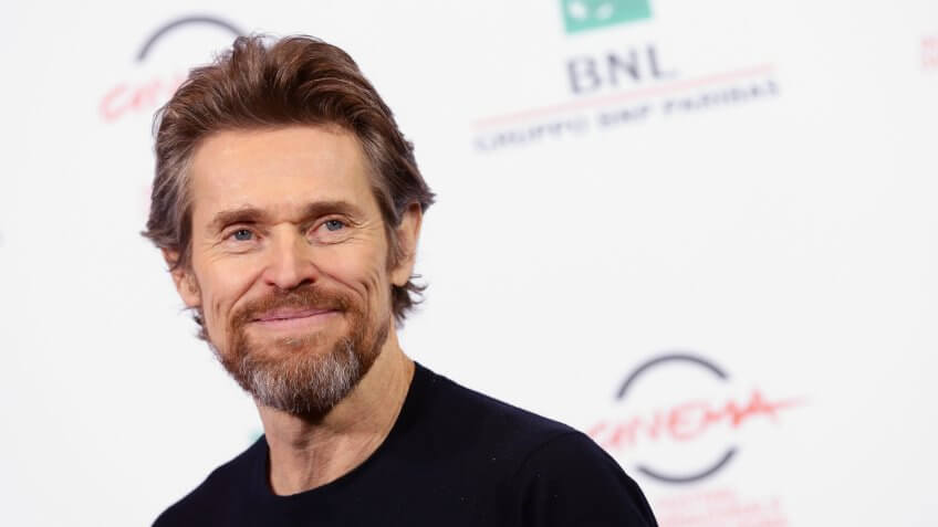 ROME, ITALY - OCTOBER 25:  Willem Dafoe attends the 'A Most Wanted Man' Photocall during the 9th Rome Film Festival on October 25, 2014 in Rome, Italy.