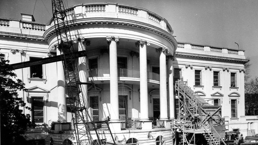 1950 US White House