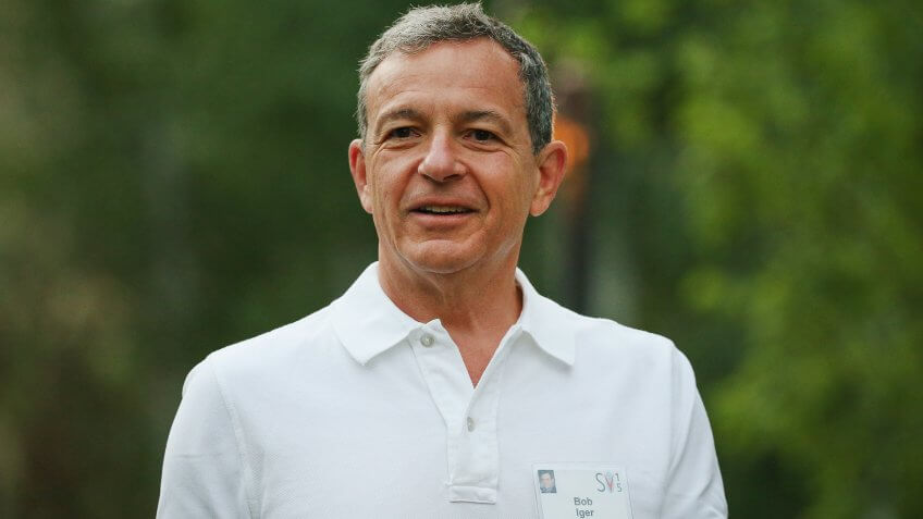 SUN VALLEY, ID - JULY 08:  Robert Iger, chief executive officer of The Walt Disney Co.