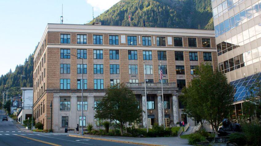 Alaska State Capital Building, BUILDING, Capitol Building, capital, state