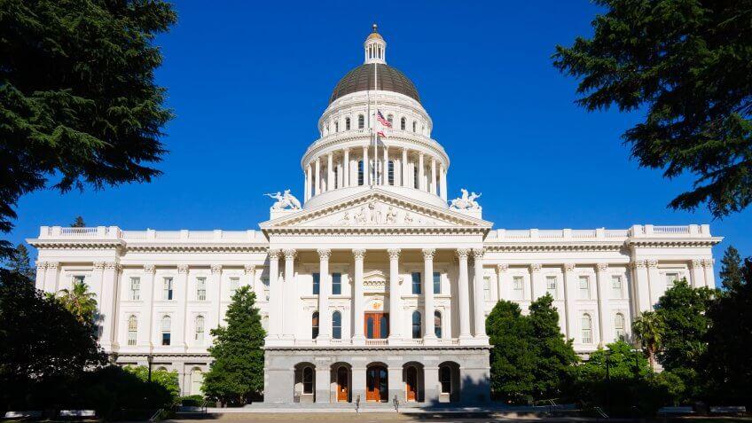 California, Capitol Building