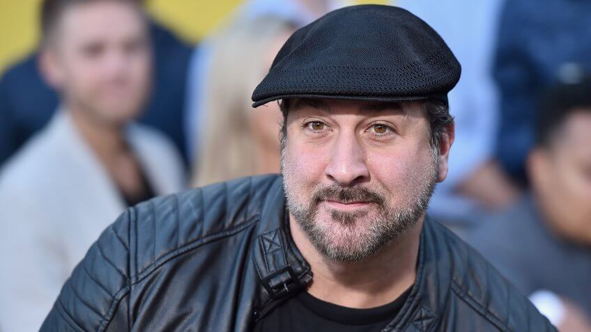 WESTWOOD, CA - AUGUST 09:  Actor Joey Fatone attends the premiere of Sony's 'Sausage Party' at Regency Village Theatre on August 9, 2016 in Westwood, California.