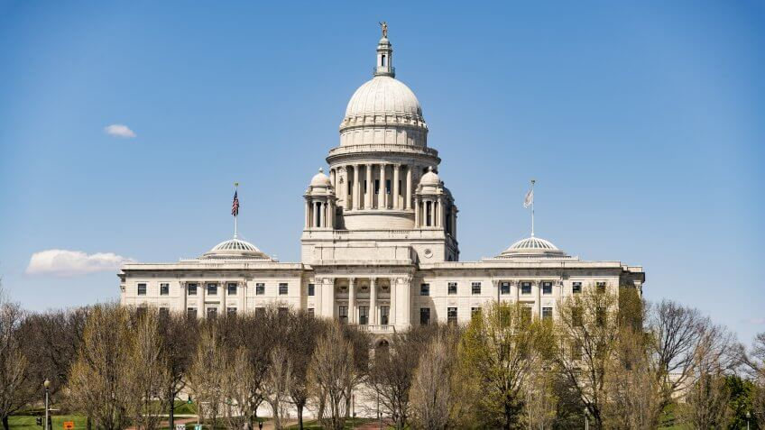 Capitol Building, Rhode-Island