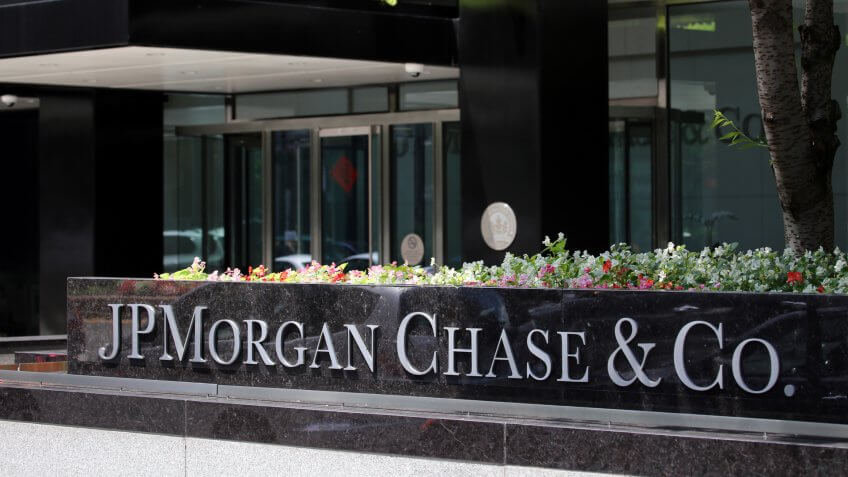 EW YORK - JULY 16: The JPMorgan Chase & Co.