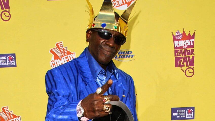 "Flavor Flav at the ""Comedy Central Roast of Flavor Flav""."