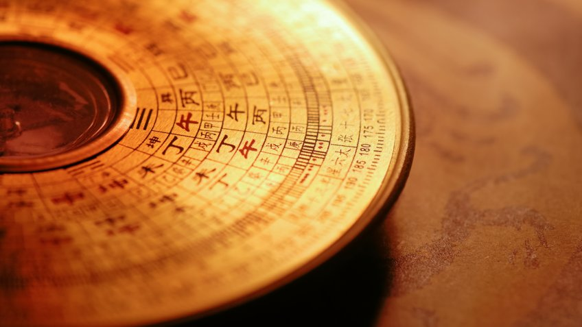 compass, feng shui