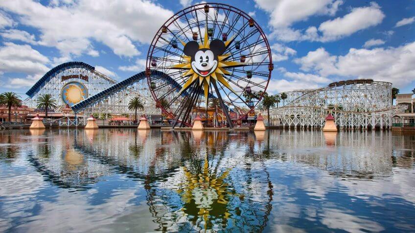 PARADISE PIER ó At Paradise Pier, located at Disney California Adventure Park in Anaheim, Calif.