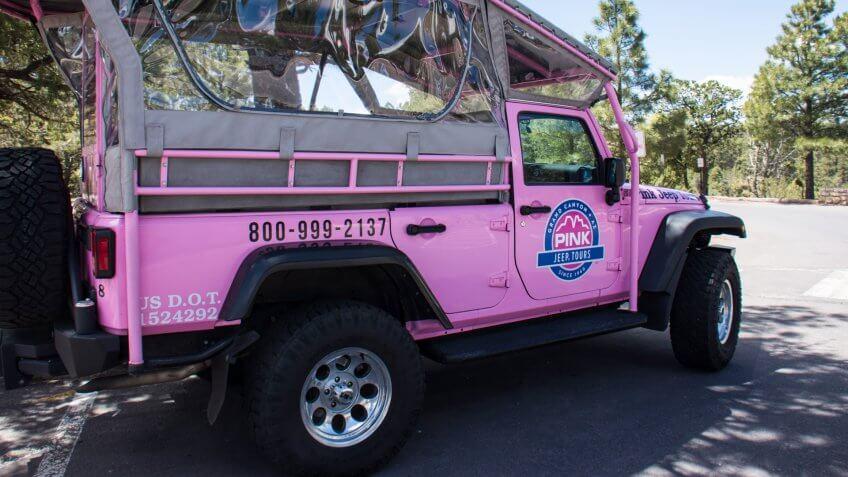 Grand Canyon Pink Jeep tours.