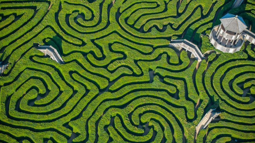 Longleat House, Pattern, graphic, lost, maze, mazes, path, puzzle