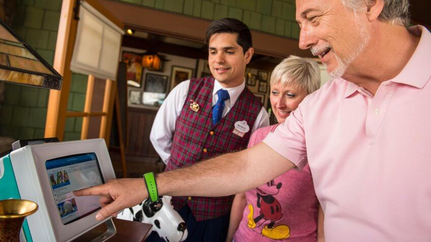 Walt Disney World Resort guests have the flexibility to customize their FastPass+ experiences and more at select locations throughout the resort with a simple tap of their MagicBand.
