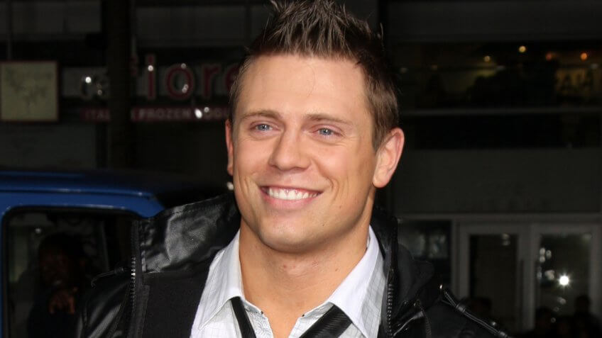 "LOS ANGELES - OCT 13: Mike Mizanin, ""The Miz"" arrives at the ""Jackass 3D"" Movie LA Premiere at Grauman's Chinese Theater on October 13, 2010 in Los Angeles, CA."