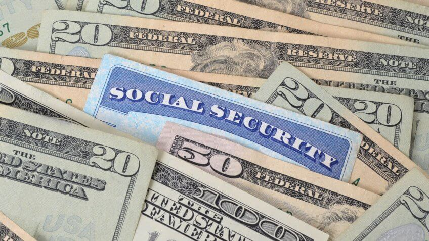cash and social security card