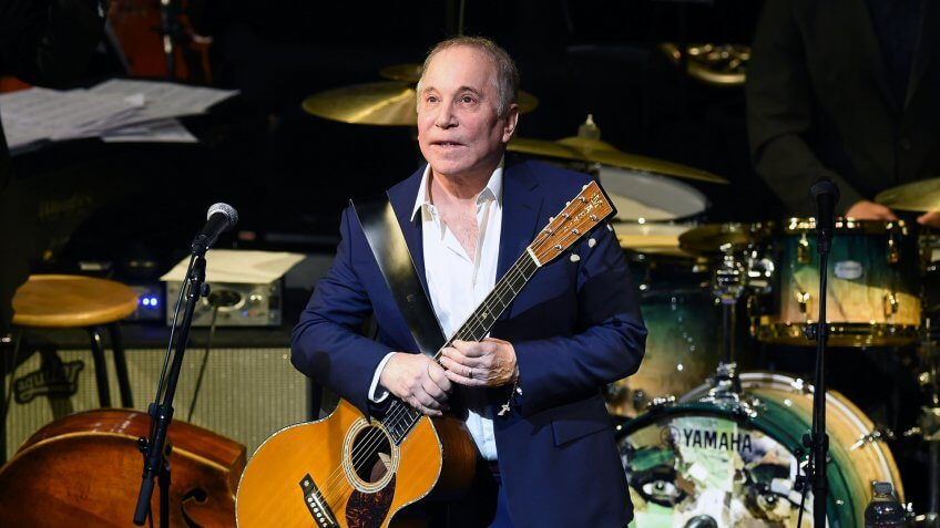 NEW YORK, NY - JANUARY 20:  Paul Simon performs onstage during The Nearness Of You Benefit Concert at Frederick P.