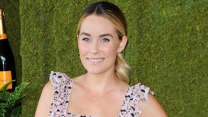 Lauren Conrad at the 8th Annual Veuve Clicquot Polo Classic held at the Will Rogers State Historic Park in Pacific Palisades, USA on October 14, 2017.