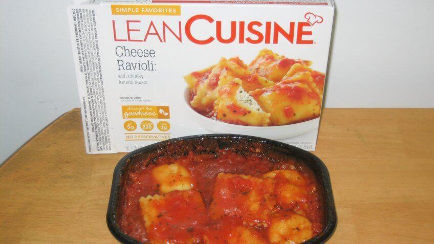 Lean Cuisine, frozen foods, frozen meal