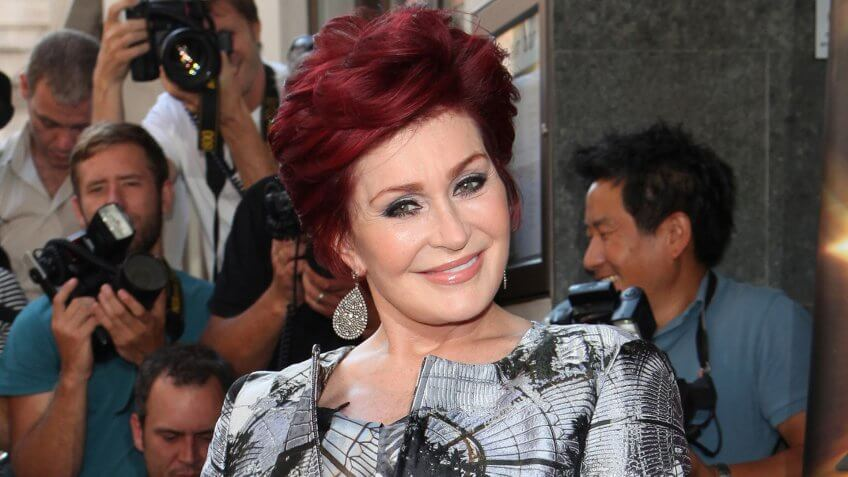 Sharon Osbourne arriving for the X Factor 2013 Launch, London.