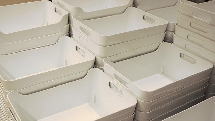 Crates, bins, storage