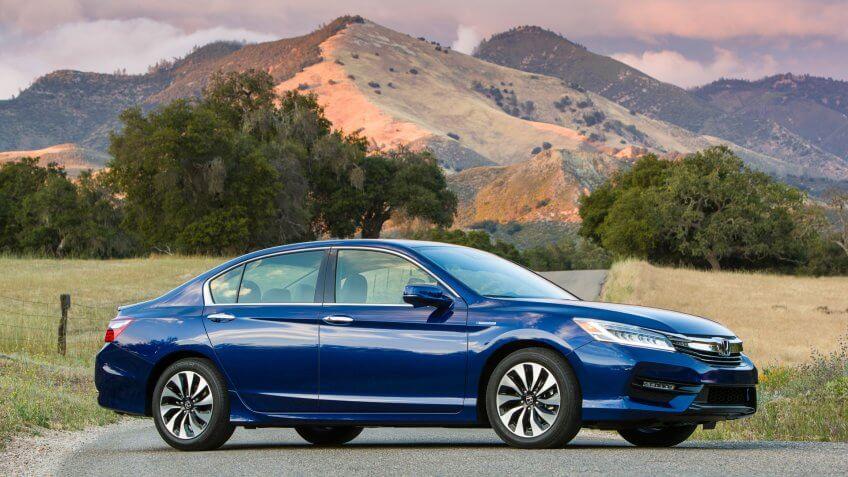 2017 Honda Accord Hybrid.