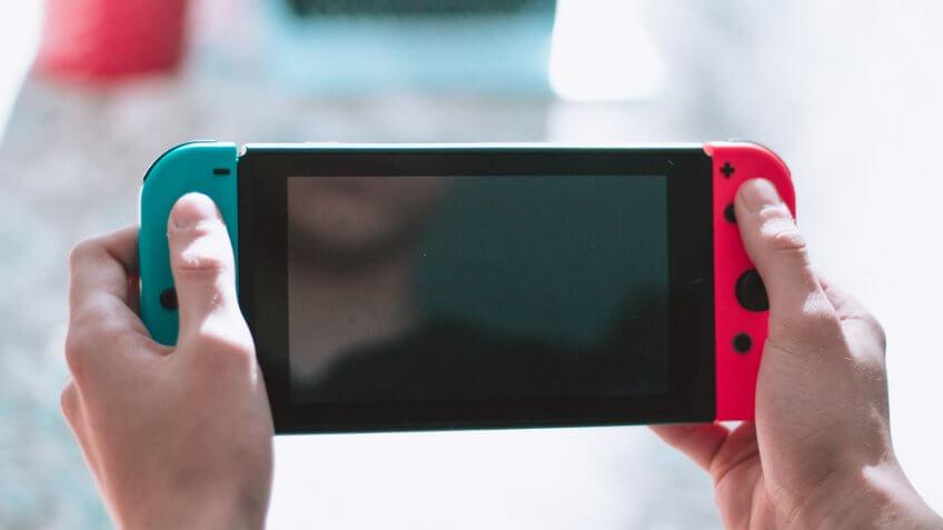 Nintendo, Nintendo Switch, game system, video game