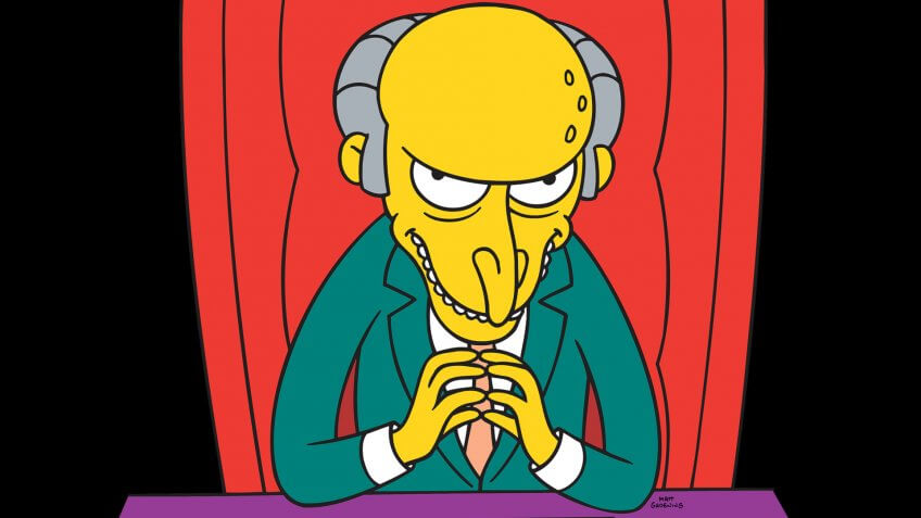 THE SIMPSONS: Mr.