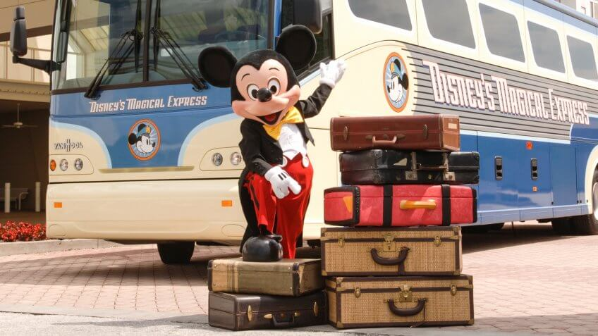 Mickey Mouse travel