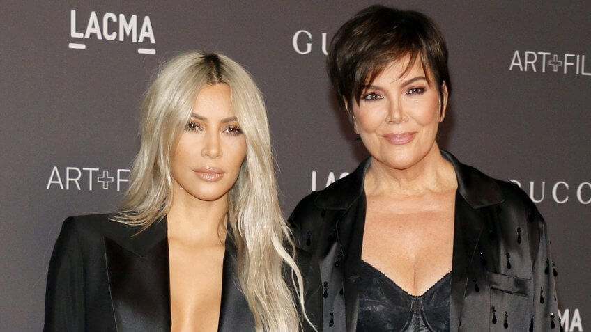 Kim Kardashian West and Kris Jenner