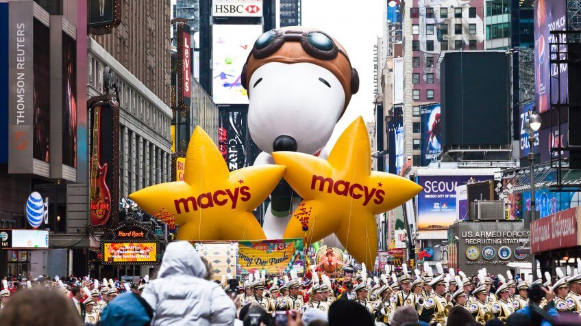 Macy's Parade Snoopy Balloon