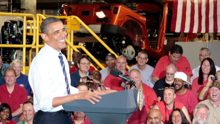 Chrysler Group welcomed President Obama at its Toledo Assembly Complex, home of the iconic 2011 Jeep Wrangler, today.