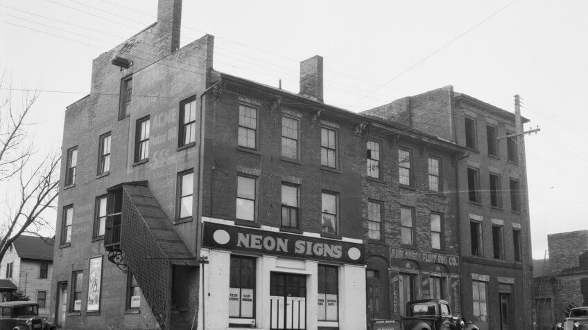historical store fronts