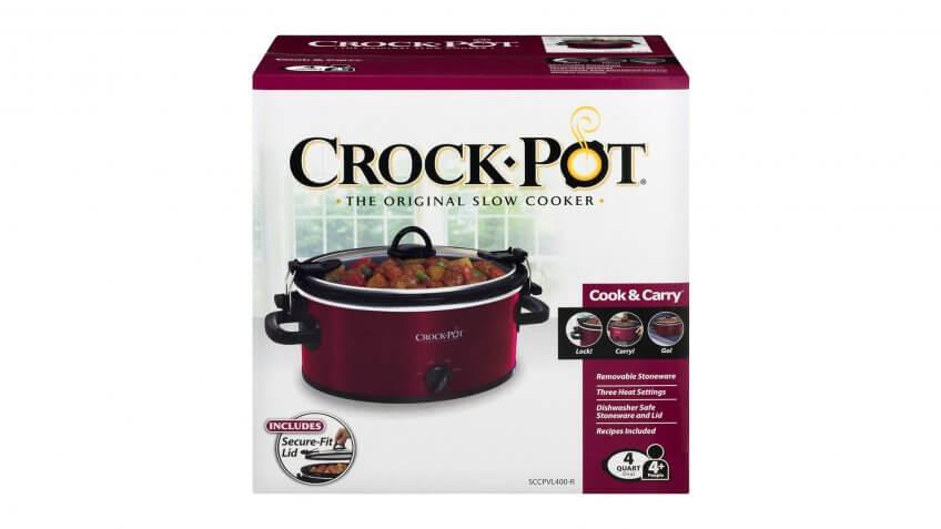 4-Quart Crock Pot