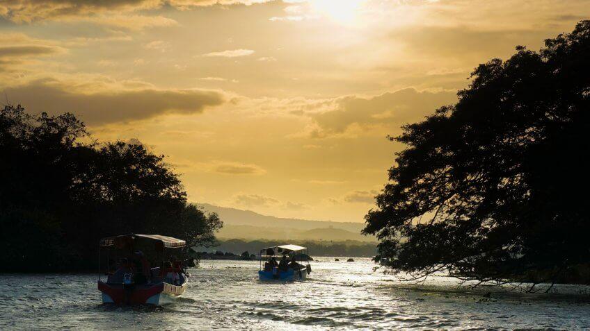Islands of Granada in Nicaragua.