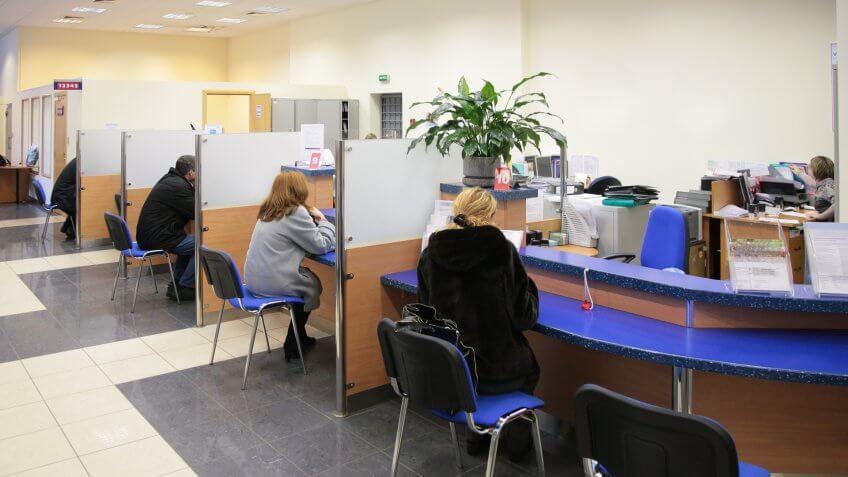bank customers