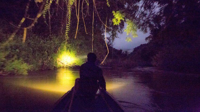Nam Nern Night Safari Laos
