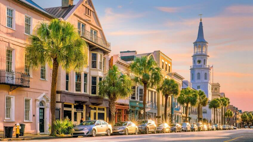 11674, Charleston, How Long $1 Million Will Last in Retirement in Every State, South Carolina, States, USA, United States of America, america, horizonta