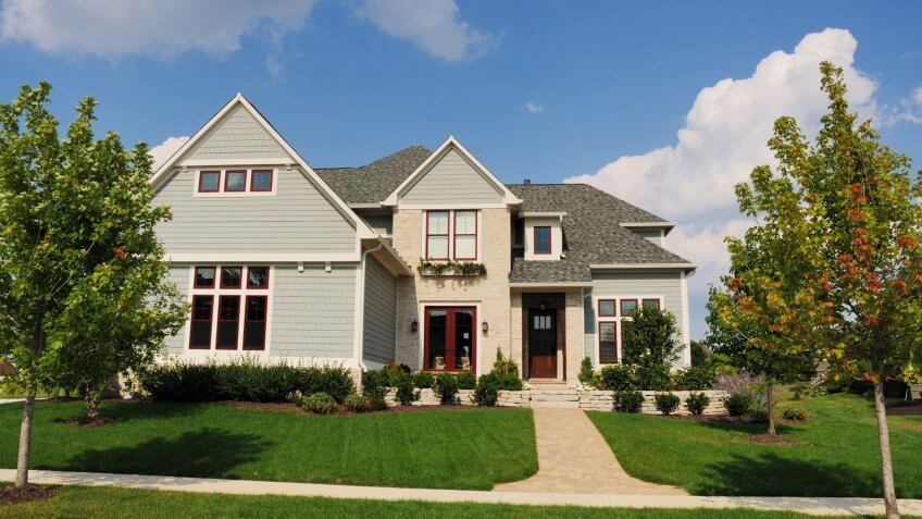 """A luxury home in an upscale subdivision in the suburbs of Indianapolis, IN."