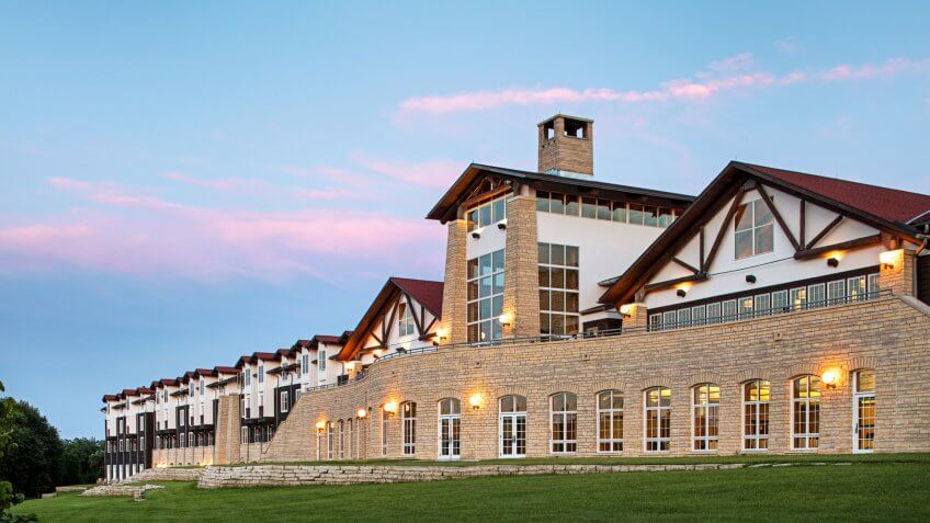 Lied Lodge & Conference Center.