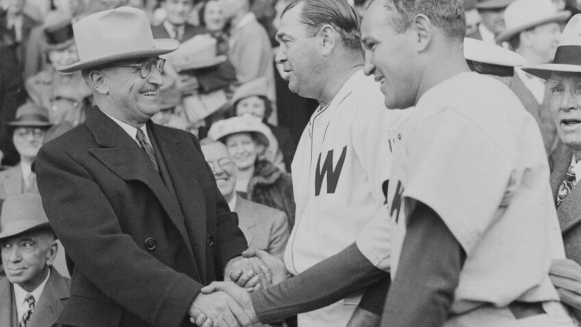 1947-President-Truman-Baseball