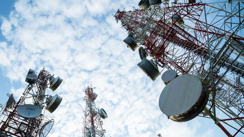 telecommunications industry towers