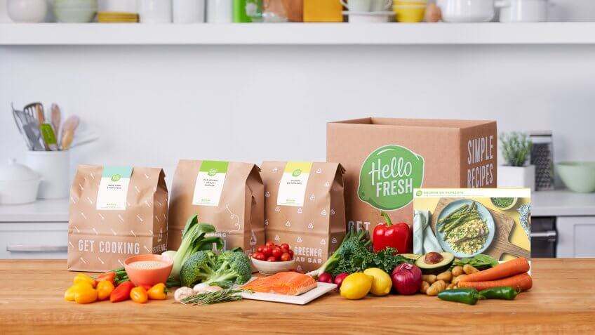 HelloFresh, food subscription