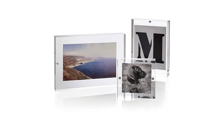Acrylic Block Picture Frame