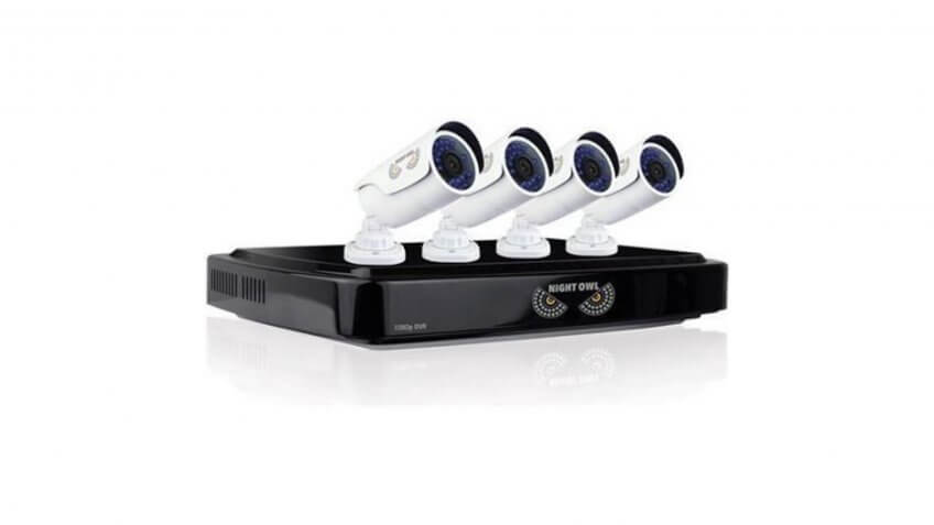 Night Owl 4-Camera HD Security System Kit