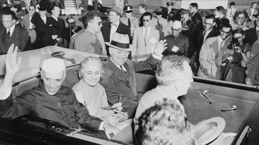 1949-President-Truman-Indian-Prime-Minister-Jawaharlal-Nehru.