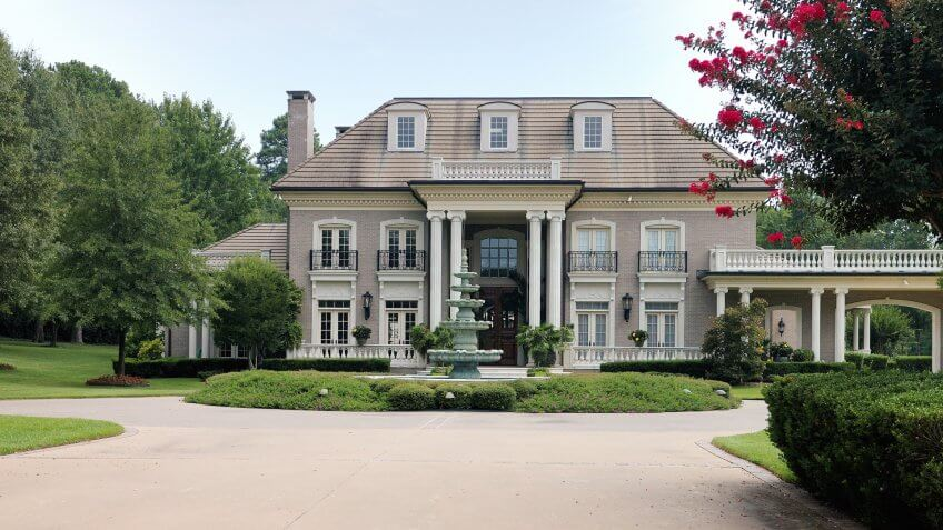 Elegant home in a gated residential community.