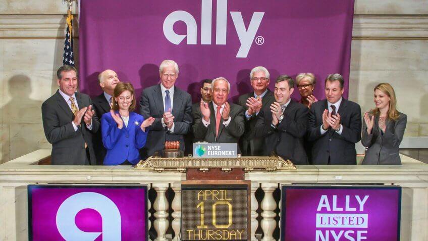 NEW YORK, NY – APRIL 10:  Ally Financial CEO Michael A.