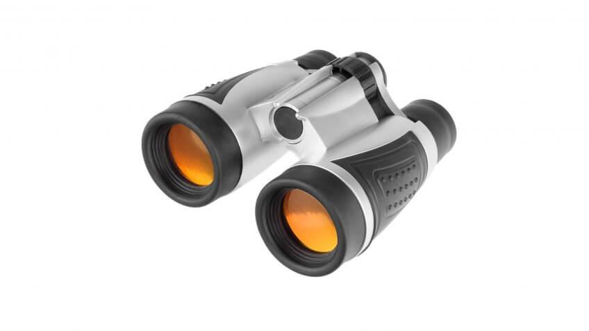 Wakeman Portable Binoculars