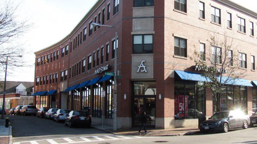 Ashley Stewart, Roxbury Massachusetts.