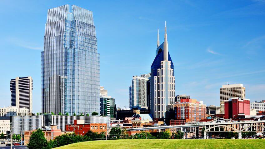 10966, Cities, Horizontal, Nashville, States, Tennessee