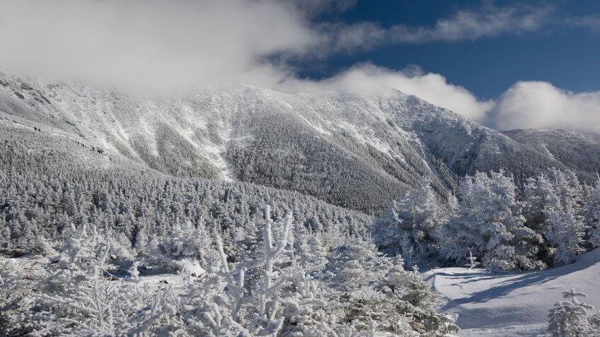 Franconia Range, Franconia Ridge, Mount Lincoln, New-Hampshire